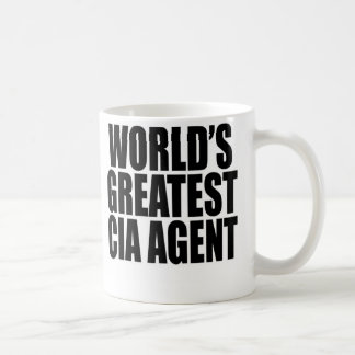 World's Greatest CIA Agent Coffee Mug