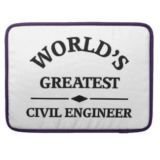 World's greatest Civil Engineer Sleeve For MacBooks