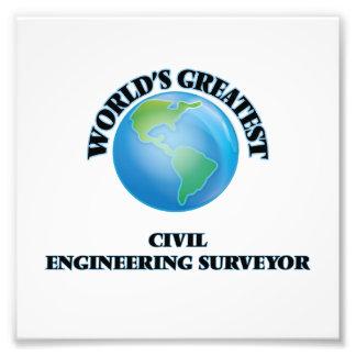 World's Greatest Civil Engineering Surveyor Art Photo