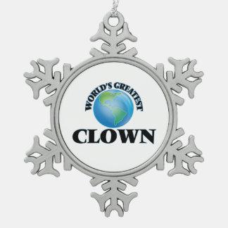 World's Greatest Clown Ornaments