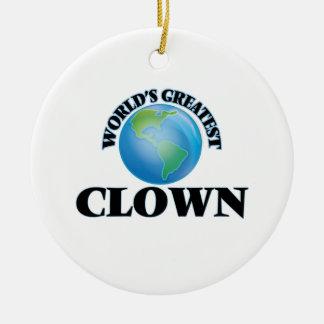 World's Greatest Clown Ornament