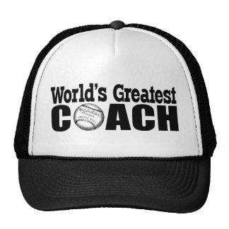 World's Greatest Coach Baseball T-shirt or Hat