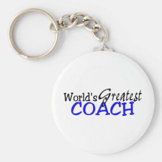 Worlds Greatest Coach Keychain
