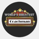 World's Greatest Coachman Sticker