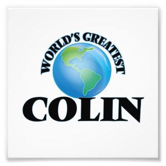 World's Greatest Colin Photo Print