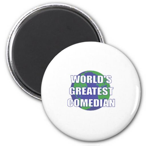 World's Greatest Comedian Fridge Magnets