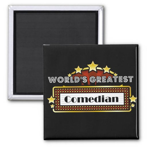 World's Greatest Comedian Magnets