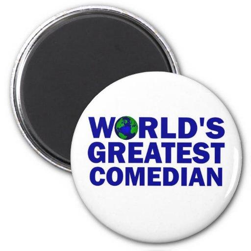 World's Greatest Comedian Magnet