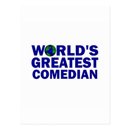 World's Greatest Comedian Postcard