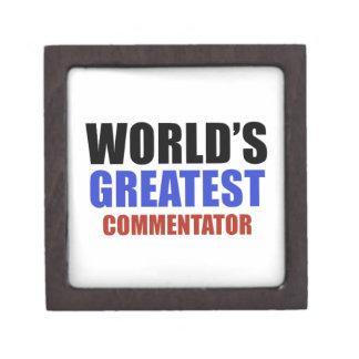 World's greatest COMMENTATOR Premium Gift Boxes