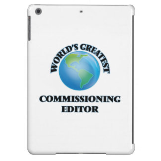 World's Greatest Commissioning Editor iPad Air Cover