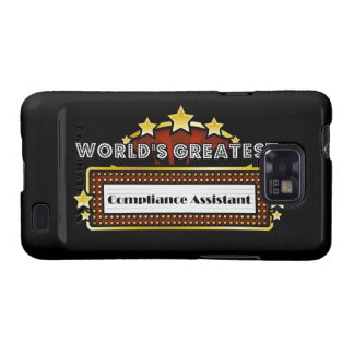 World's Greatest Compliance Assistant Samsung Galaxy S2 Covers