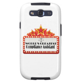 World's Greatest Compliance Assistant Galaxy SIII Case