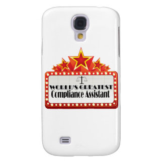 World's Greatest Compliance Assistant Galaxy S4 Cover