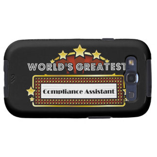 World's Greatest Compliance Assistant Samsung Galaxy S3 Case