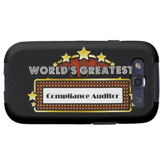 World's Greatest Compliance Auditor Galaxy SIII Cover