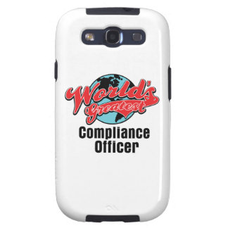 Worlds Greatest Compliance Officer Galaxy SIII Cover