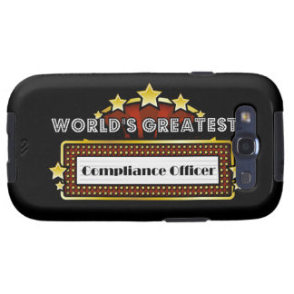 World's Greatest Compliance Officer Galaxy S3 Covers