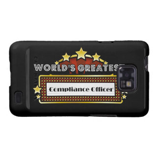World's Greatest Compliance Officer Galaxy S2 Cover