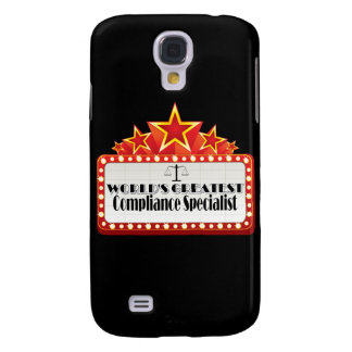World's Greatest Compliance Specialist Samsung Galaxy S4 Cover