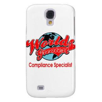 World's Greatest Compliance Specialist Galaxy S4 Case