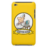 WORLDS GREATEST COMPUTER DOCTOR MEN CARTOON Case-Mate iPod TOUCH CASE