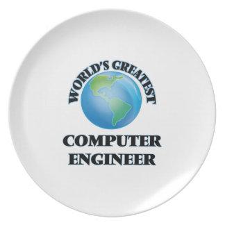 World's Greatest Computer Engineer Dinner Plate