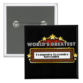 World's Greatest Computer Forensics Specialist Buttons