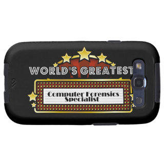 World's Greatest Computer Forensics Specialist Galaxy S3 Cases