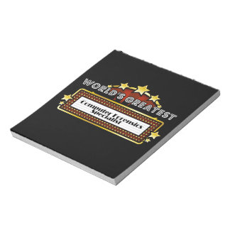World's Greatest Computer Forensics Specialist Memo Notepads