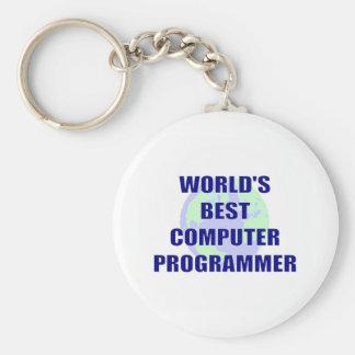World's Greatest Computer Programmer Key Chains