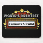 World's Greatest Computer Scientist Mousepad
