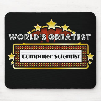 World's Greatest Computer Scientist Mouse Pad
