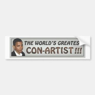 worlds greatest con-man.pdf car bumper sticker