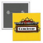 World's Greatest Concierge Pin