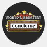 World's Greatest Concierge Round Sticker