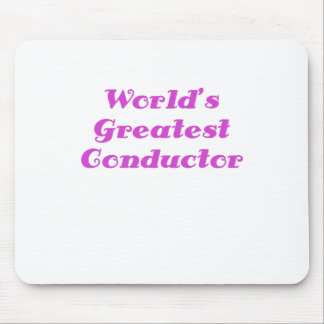 Worlds Greatest Conductor Mouse Pad