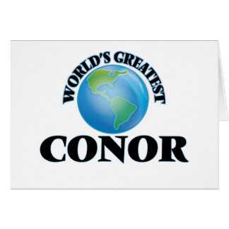 World's Greatest Conor Card