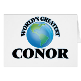 World's Greatest Conor Cards