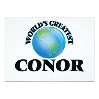 """World's Greatest Conor 5"""" X 7"""" Invitation Card"""