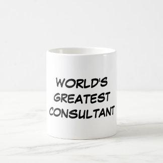 """World's Greatest Consultant"" Mug"