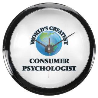 World's Greatest Consumer Psychologist Aqua Clock