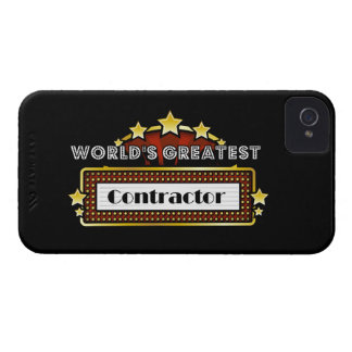 World's Greatest Contractor iPhone 4 Cover