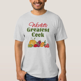 World's Greatest Cook T-Shirt