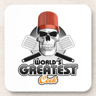 World's Greatest Cook v1 Drink Coaster