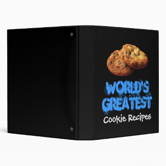 World's Greatest Cookie Recipes Binder