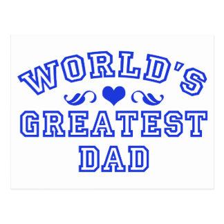 World's greatest - coolest dad postcard