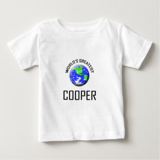 World's Greatest Cooper Baby T-Shirt