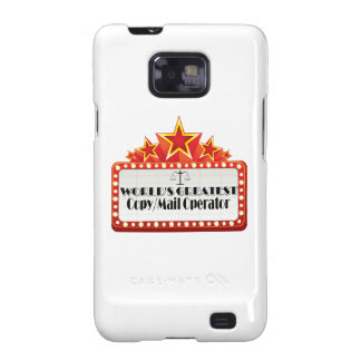 World's Greatest Copy Mail Operator Galaxy SII Cases