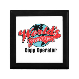 Worlds Greatest Copy Operator Gift Boxes